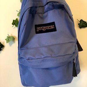 JANSPORT baby blue backpack
